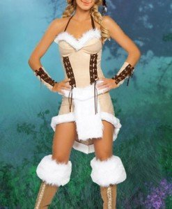 Q97-15 Costum de Halloween indianca - Basme si Legende - Haine > Haine Femei > Costume Tematice > Basme si Legende