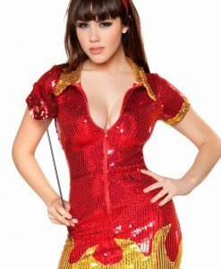 R137-A Costum Tematic Dracusor - Inger & Dracusor - Haine > Haine Femei > Costume Tematice > Inger & Dracusor