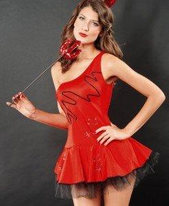 R138 Costum Tematic Dracusor - Inger & Dracusor - Haine > Haine Femei > Costume Tematice > Inger & Dracusor