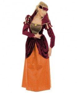 R210 Costum Halloween printesa medievala - Epoca - Medieval - Haine > Haine Femei > Costume Tematice > Epoca - Medieval