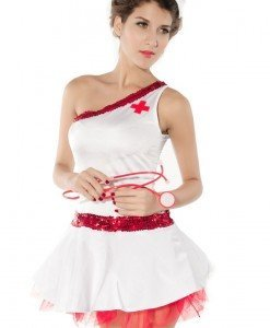 R227 Costum tematic asistenta - Asistenta Medicala - Haine > Haine Femei > Costume Tematice > Asistenta Medicala