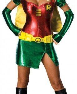 R233 Costum tematic super erou Robin - Super Eroi - Haine > Haine Femei > Costume Tematice > Super Eroi