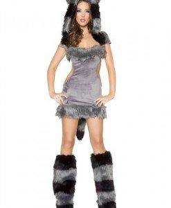 R304-18 Costum Halloween raton - Animalute - Haine > Haine Femei > Costume Tematice > Animalute