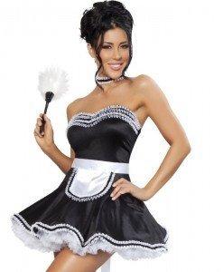 R317 Costum Halloween menajera - Menajera - Haine > Haine Femei > Costume Tematice > Menajera