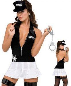 R88 Costum Halloween politista - Politista - Gangster - Haine > Haine Femei > Costume Tematice > Politista - Gangster