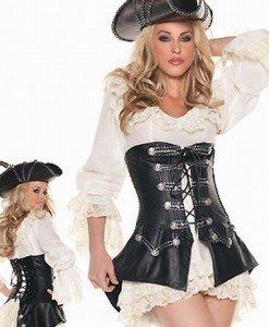 R96 Costum tematic pirat sexy - Pirat - Haine > Haine Femei > Costume Tematice > Pirat