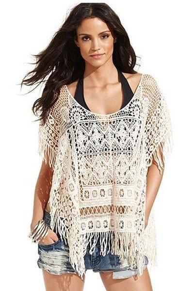 RV110 Bluza brodata pentru plaja – Costume de plaja – Haine > Haine Femei > Costume de baie > Costume de plaja
