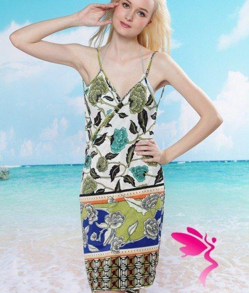 RV87 Rochie Plaja Femei – Costume de plaja – Haine > Haine Femei > Costume de baie > Costume de plaja