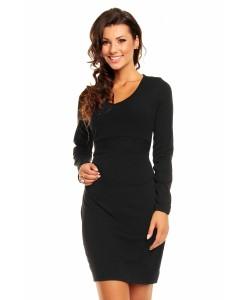 Rochie neagra MAIA HAMERA - Rochii///Rochii tricotate - 0