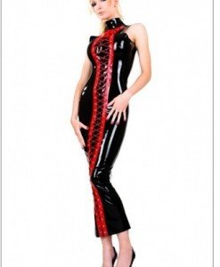 S148- Rochie Latex PVC - Costume latex si PVC - Haine > Haine Femei > Costume latex si PVC