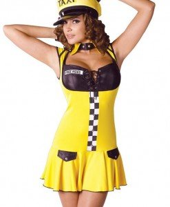 S241 Costum tematic sofer taxi - Altele - Haine > Haine Femei > Costume Tematice > Altele