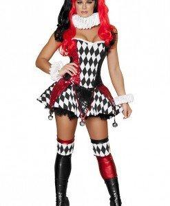 S303 Costum Halloween Joker - Altele - Haine > Haine Femei > Costume Tematice > Altele