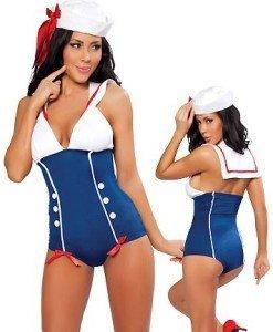 S89 Costum tematic marinar - Armata - Marinar - Haine > Haine Femei > Costume Tematice > Armata - Marinar