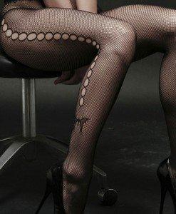 STK136-1 Ciorapi din plasa cu gauri laterale - Ciorapi dama - Haine > Haine Femei > Ciorapi si manusi > Ciorapi dama