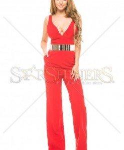 Salopeta Artista Being Fashion Red - Salopete -
