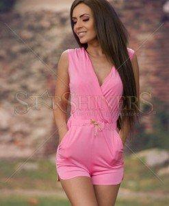 Salopeta Artista Natural Joy Pink - Salopete -
