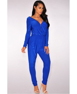 Salopeta Blue Zipper - Salopete - 0