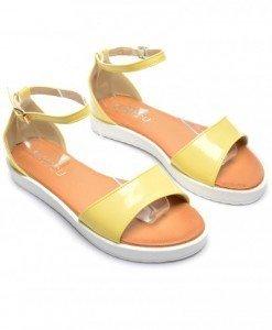 Sandale Margel Galbene - Sandale - Sandale