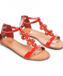 Sandale Romes Rosii - Sandale - Sandale