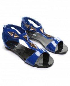 Sandale Velura Albastre - Sandale - Sandale