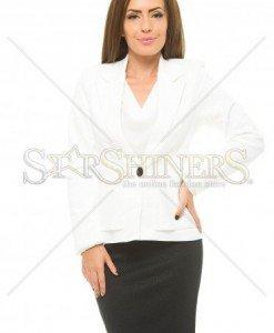Set LaDonna Exclusive Lines White - Seturi din 2 piese -