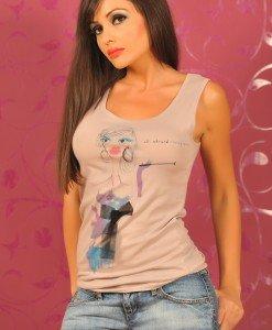 SiS45 Maieu cu Imprimeu - Sisley - Haine > Brands > Sisley