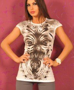 SiS60 Tricou cu Imprimeu - Sisley - Haine > Brands > Sisley