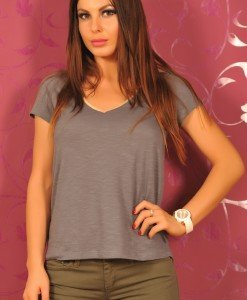 SiS87 Tricou Simplu Dama - Sisley - Haine > Brands > Sisley