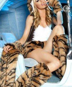 T150 Costum tematic tigru - Animalute - Haine > Haine Femei > Costume Tematice > Animalute