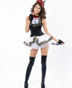 T151 Costum tematic pisica - Animalute - Haine > Haine Femei > Costume Tematice > Animalute