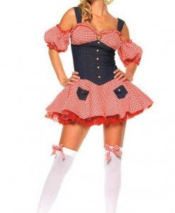 T83 Costum tematic de Halloween - Chelnerita - Haine > Haine Femei > Costume Tematice > Chelnerita