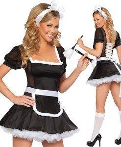 T93 Costum tematic menajera - Menajera - Haine > Haine Femei > Costume Tematice > Menajera