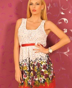 TFS36 Rochie cu Cordon - The First - Haine > Brands > The First