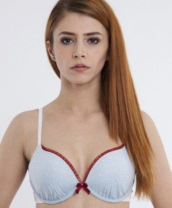 TPH826-0 Sutien cu buline si push-up Dirndl Dots - Cu Push-Up - Haine > Brands > Triumph > Sutiene > Cu Push-Up