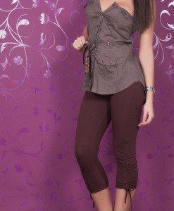 TW77 - Pantaloni Dama cu Snur - TALLY WEiJL - Haine > Brands > TALLY WEiJL