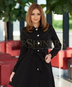 Trench Artista Early Riser Black - Trenciuri -