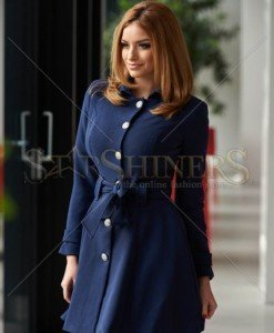 Trench Artista Early Riser DarkBlue - Trenciuri -