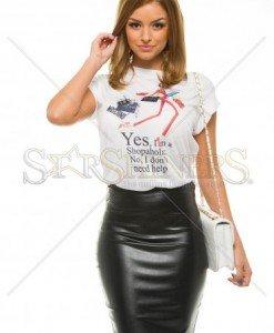 Tricou Ana Radu Fashion Addict Red - Tricouri -
