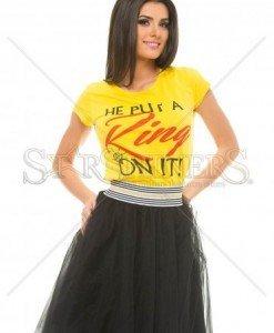 Tricou Certain Ring Yellow - Tricouri -