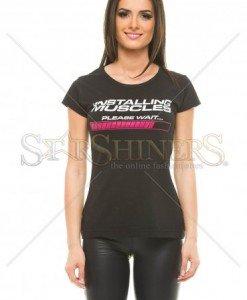 Tricou Perfect Body Black - Tricouri -