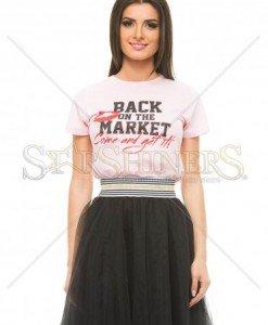 Tricou Seductive Market Rosa - Tricouri -
