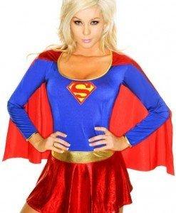 U192 Costum tematic Halloween - SuperWoman - Super Eroi - Haine > Haine Femei > Costume Tematice > Super Eroi