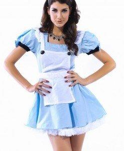 U300 Costum tematic Halloween - chelnerita - Chelnerita - Haine > Haine Femei > Costume Tematice > Chelnerita