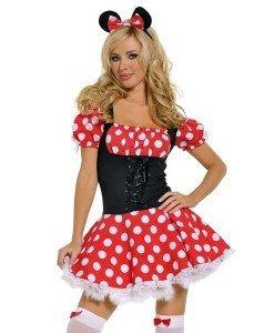 U76 Costum tematic Mickey Mouse - Personaje din desene - Haine > Haine Femei > Costume Tematice > Animalute > Personaje din desene