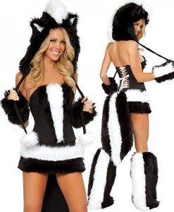 U89 Costum de carnaval sconcs sexi - Animalute - Haine > Haine Femei > Costume Tematice > Animalute