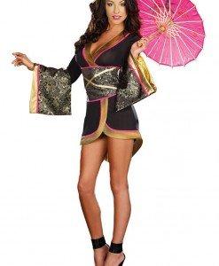 V307 Costum asiatic kimono geisha - Halate - Haine > Haine Femei > Lenjerie intima > Halate