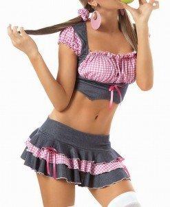 V66 Costum de Halloween - scolarita - Scolarita - Haine > Haine Femei > Costume Tematice > Scolarita