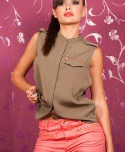 VrM63 Camasa cu Fermoar - Vero Moda - Haine > Brands > Vero Moda
