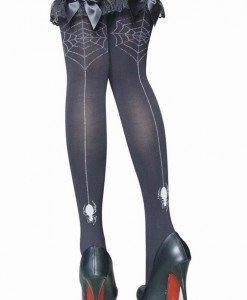 W130 Accesorii ciorapi cu fundite si panza de paianjen - Ciorapi dama - Haine > Haine Femei > Ciorapi si manusi > Ciorapi dama