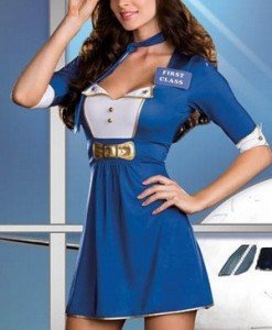 W145 Costum tematic capitan aeronava - Armata - Marinar - Haine > Haine Femei > Costume Tematice > Armata - Marinar